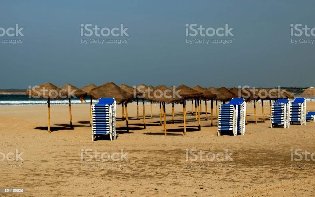 Ende der Saison in Conil de la Frontera royalty-free stock photo