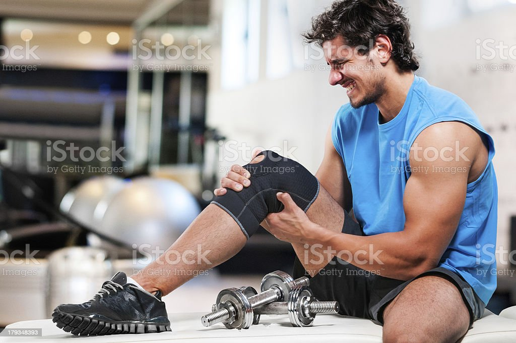 End of sports career stock photo