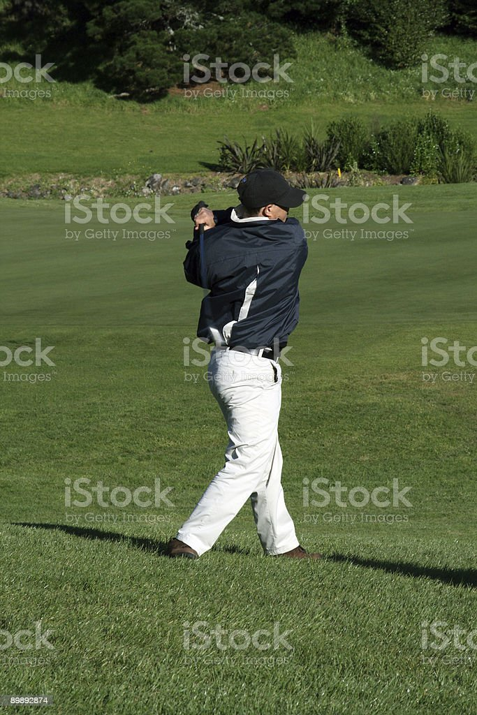 end of swing royalty-free stock photo