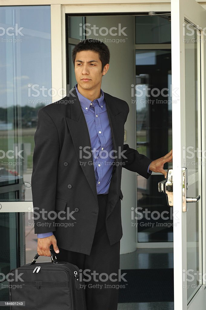End of the Business Day royalty-free stock photo