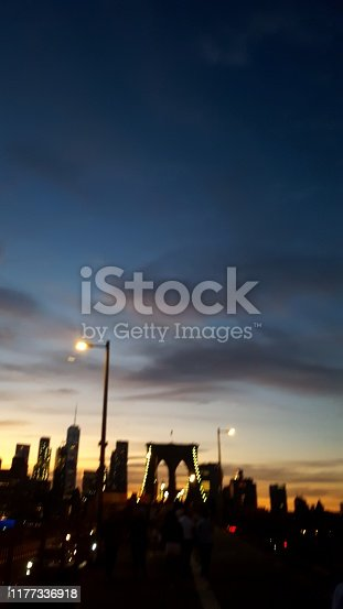 624265498 istock photo End of the day on the Brooklyn Bridge (photo1) 1177336918