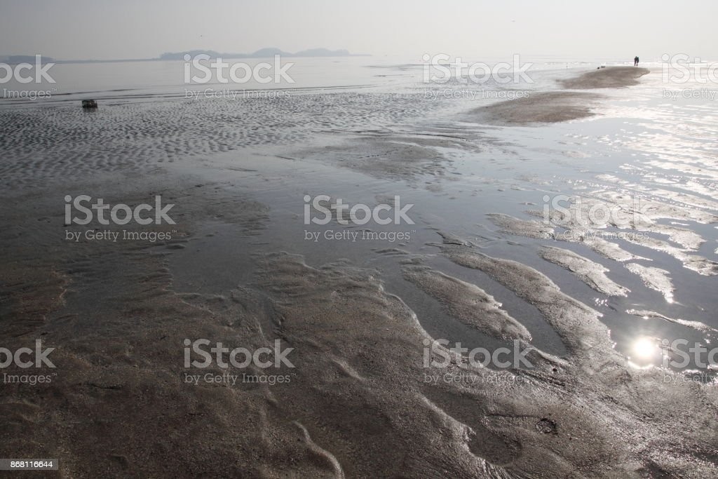 End of the Earth stock photo