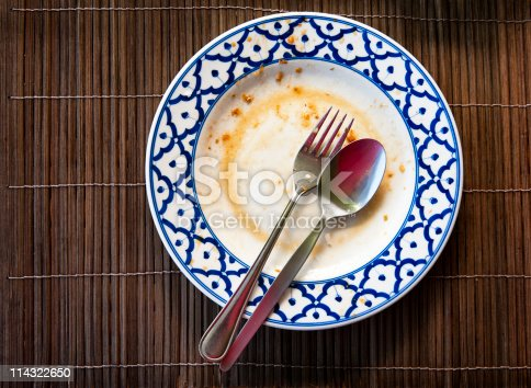 istock End of the meal 114322650