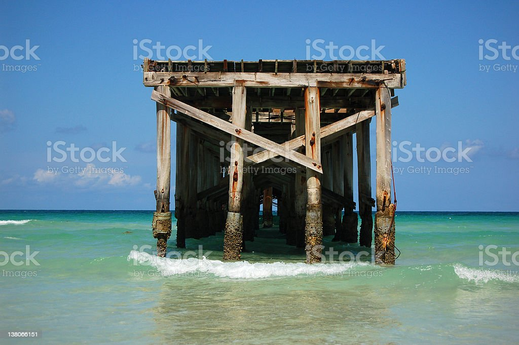 End of the Pier stock photo