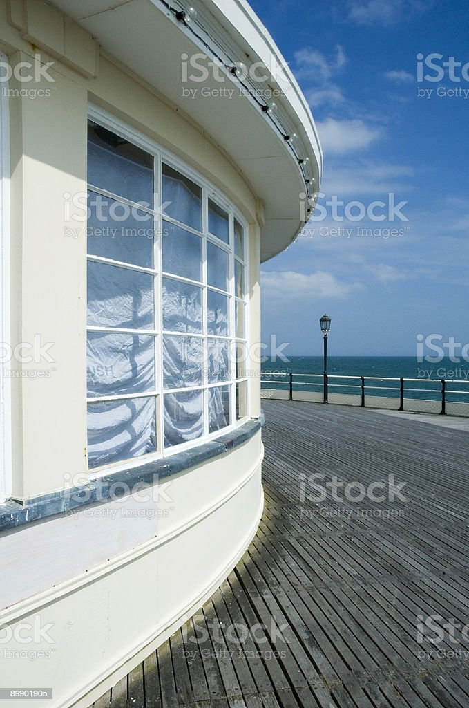 End of the Pier royalty-free stock photo