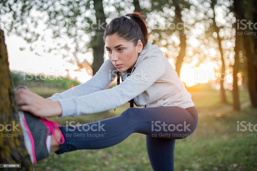 End of training session foto stock royalty-free