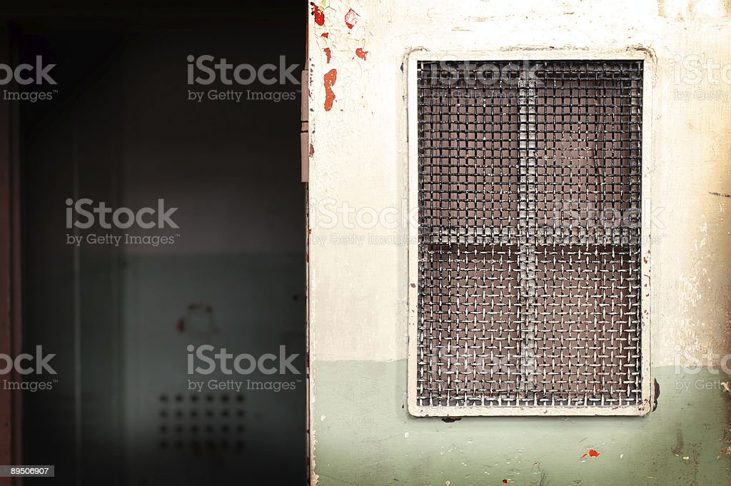 End your days in cell royalty-free stock photo