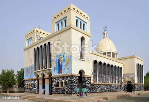 istock Enda Mariam Coptic Cathedral, Massawa, Eritrea 1313466541