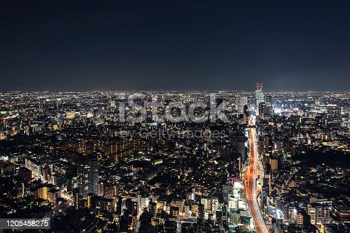 1131743616 istock photo Endless buildings in Tokyo city 1205458275