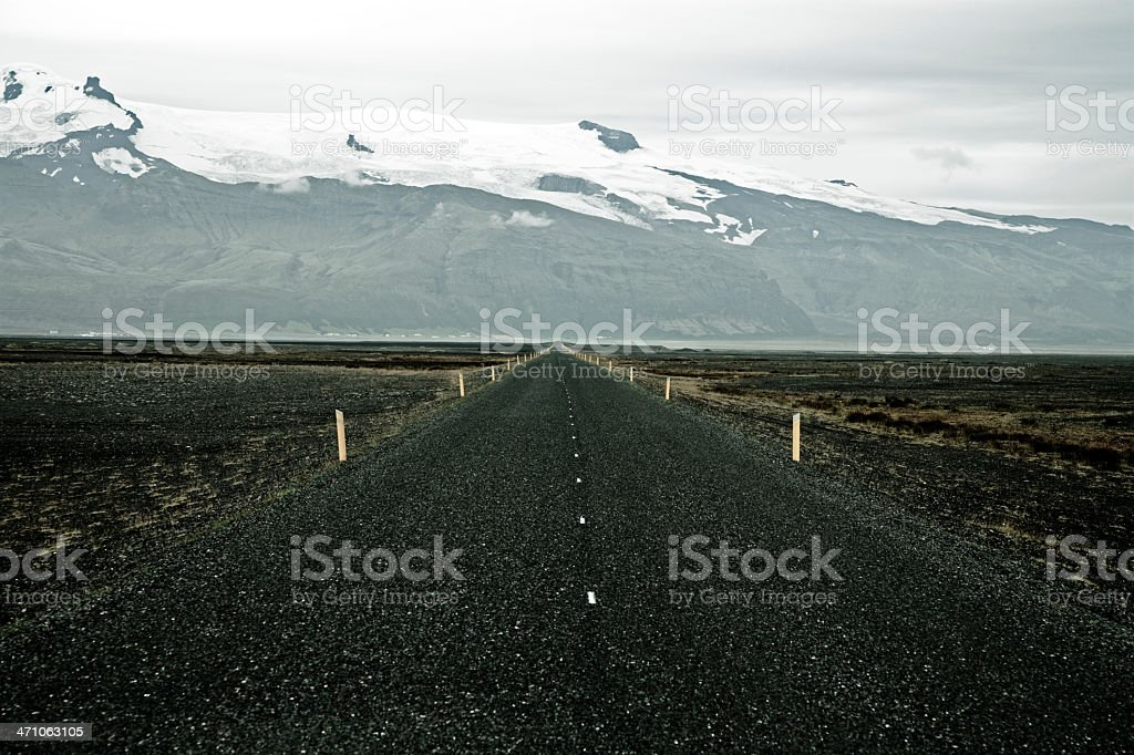 endless country road royalty-free stock photo
