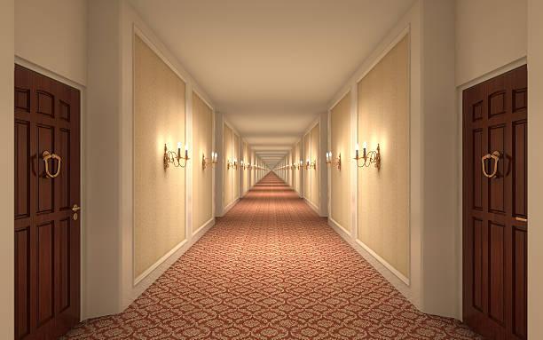 endless hotelu korytarz - motel zdjęcia i obrazy z banku zdjęć