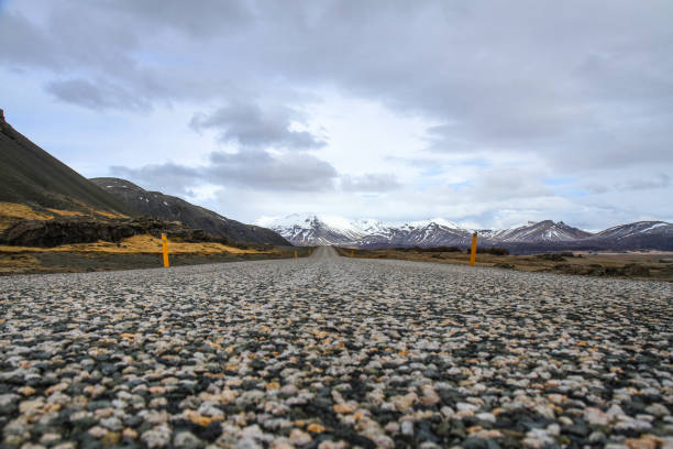 Endless Iceland Ring Road Ring Road Iceland ziel stock pictures, royalty-free photos & images