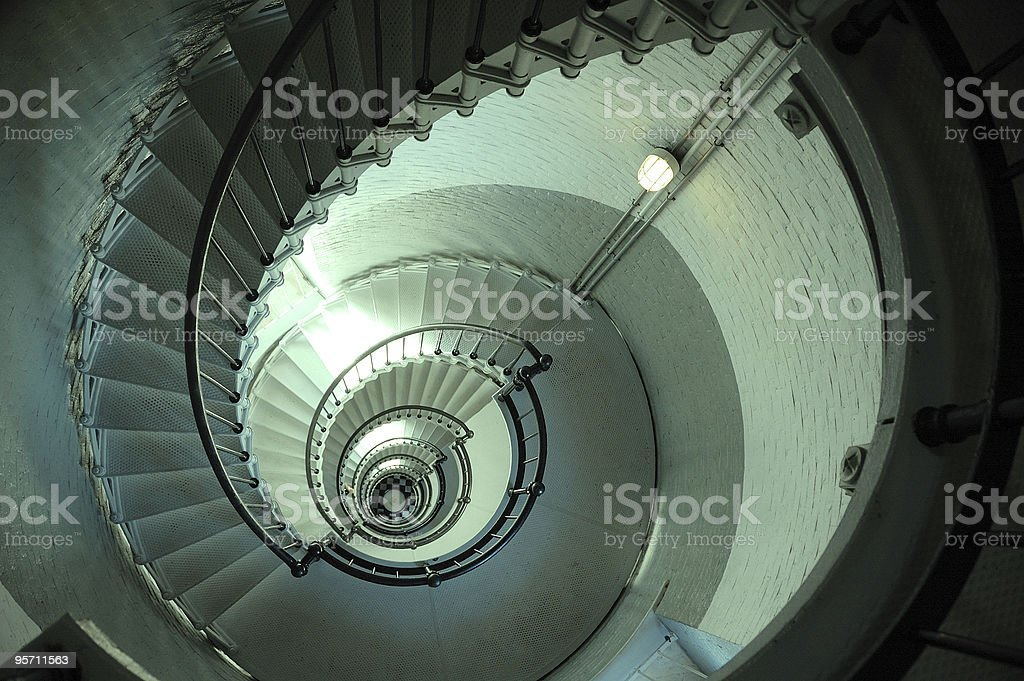 Endless Lighthouse Spiral Staircase