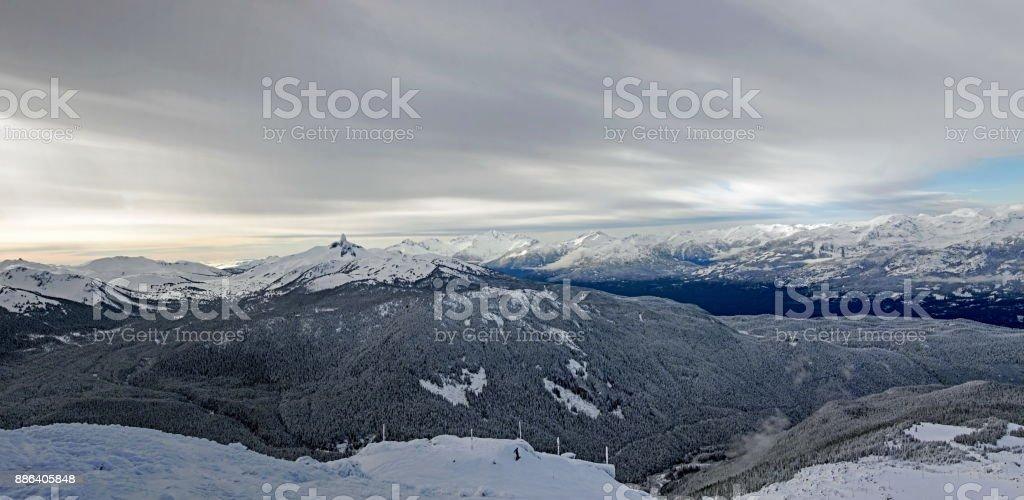 Endless Mountain Views stock photo
