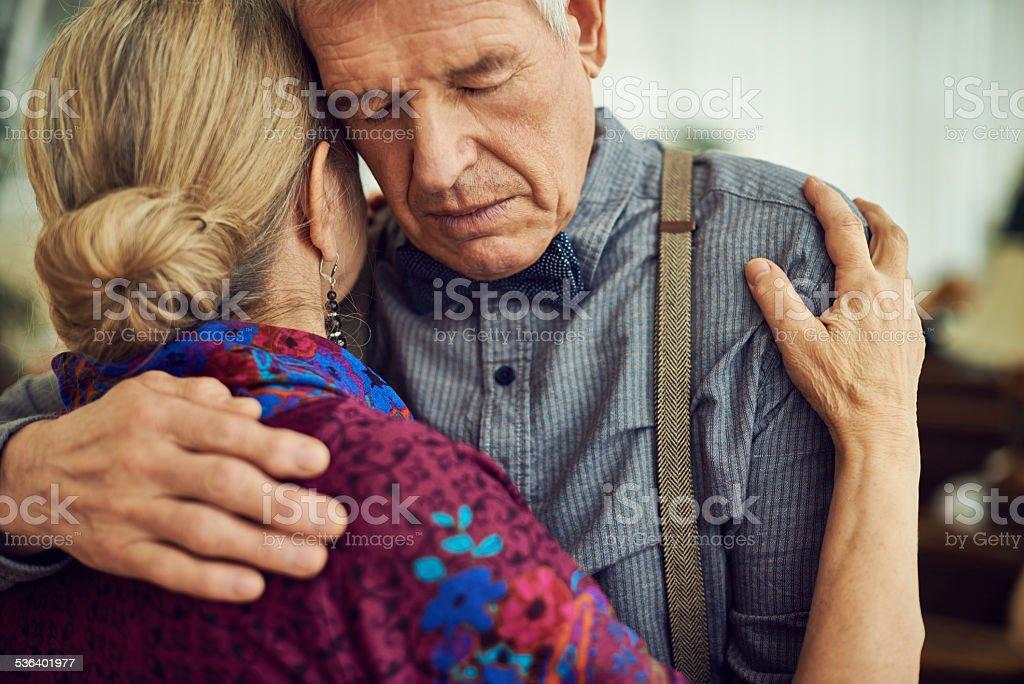 Endless romance stock photo