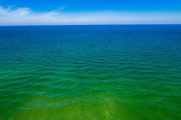 Endless Water That Extends Out For Miles stock photo
