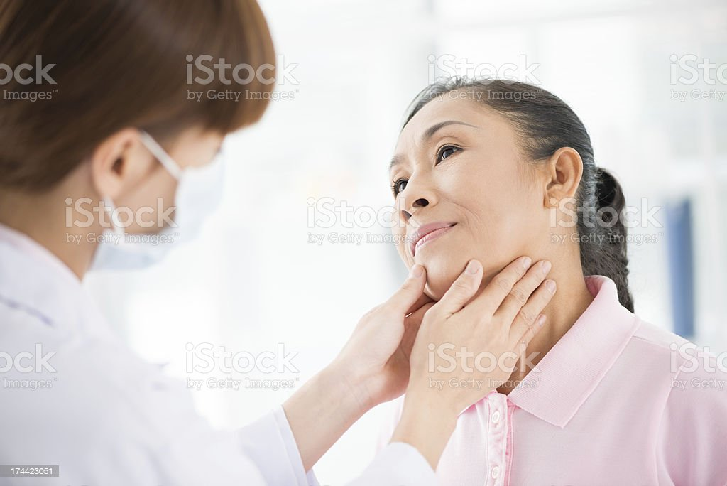Endocrinologist's appointment stock photo