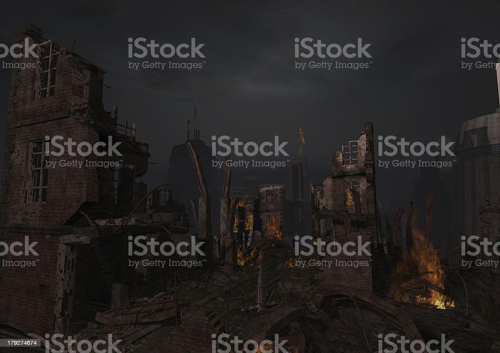 End-Scenaro royalty-free stock photo
