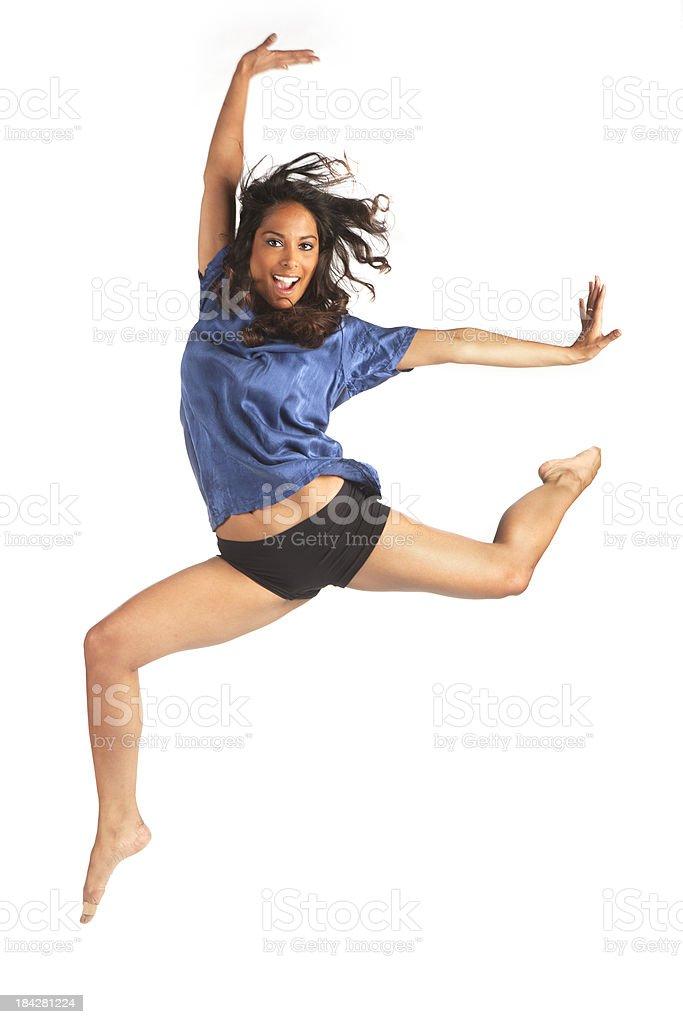 energetic dance royalty-free stock photo