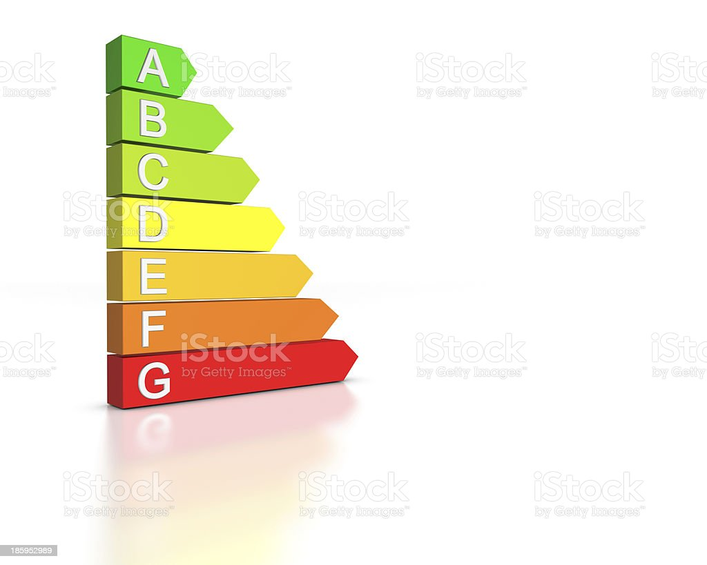 Energetic Efficiency royalty-free stock photo