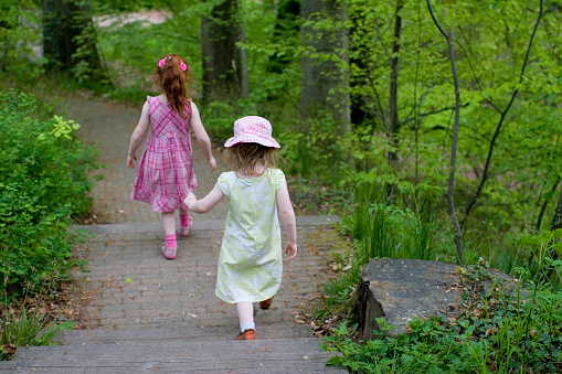 Energetic Walk In The Park Stock Photo - Download Image Now