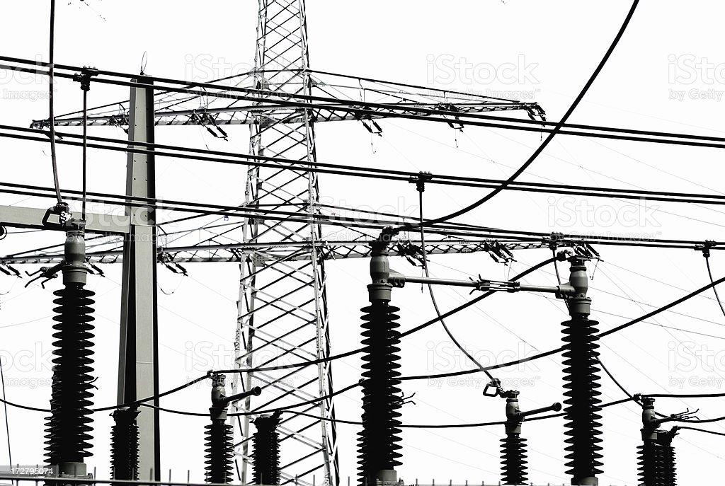 Energie maintenance royalty-free stock photo