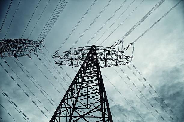 energie - stromkabel stock-fotos und bilder