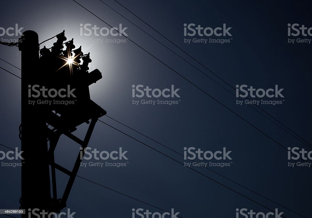 Energie,Electrique,Etoile,Cable,Transformateur stock photo