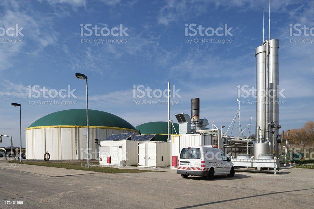 Energiewende, Bioenergie, Biogas fahren, Energie, Deutschland. Lizenzfreies stock-foto