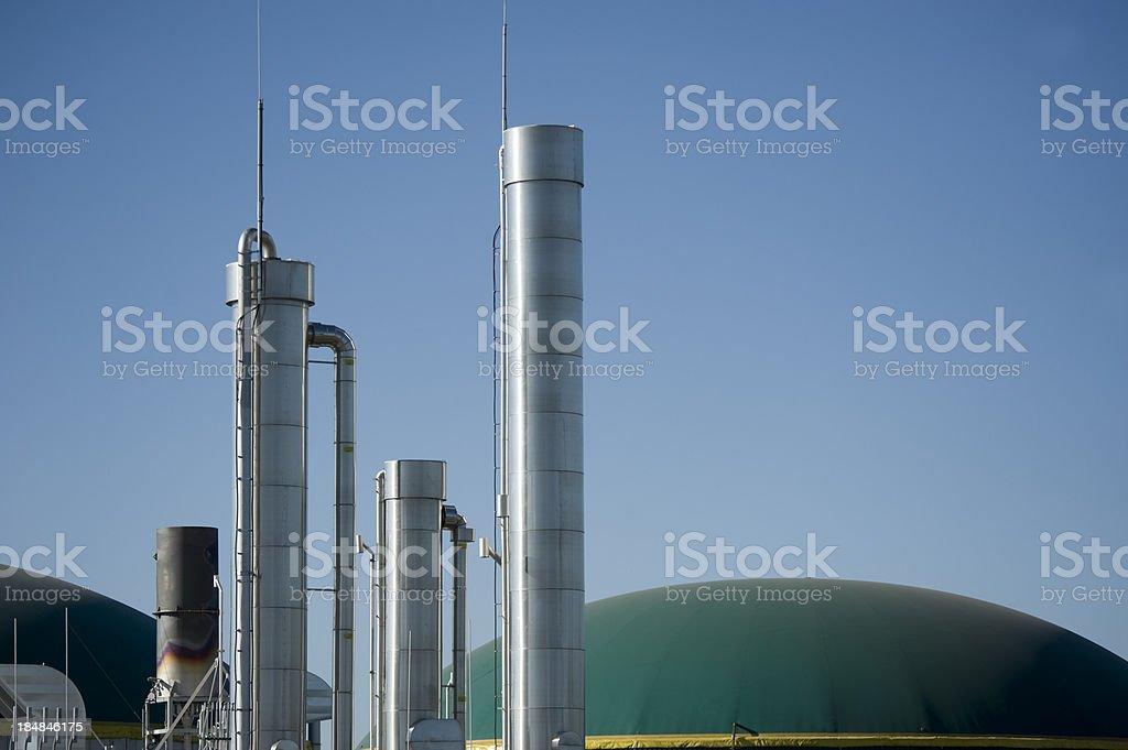 Energiewende, Bioenergie, Biogas energy, Germany. royalty-free stock photo