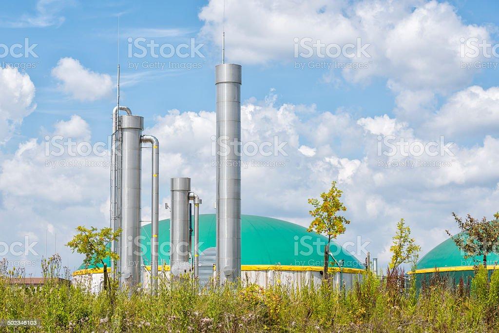 Energiewende, Bioenergie, Biogas energy Germany. stock photo
