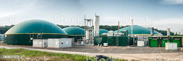 Energiewende Biomass Energy Plant Germany Stock Photo - Download Image Now