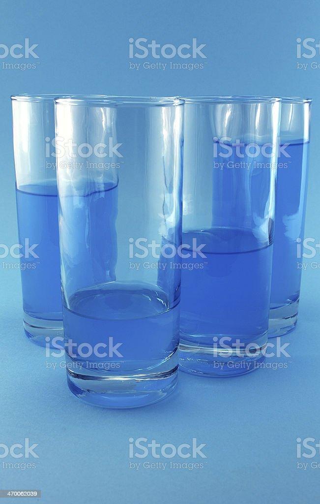 Energizing refreshment stock photo