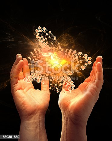 istock Energy, abstract concept composition 870381830