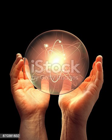 istock Energy, abstract concept composition 870381832