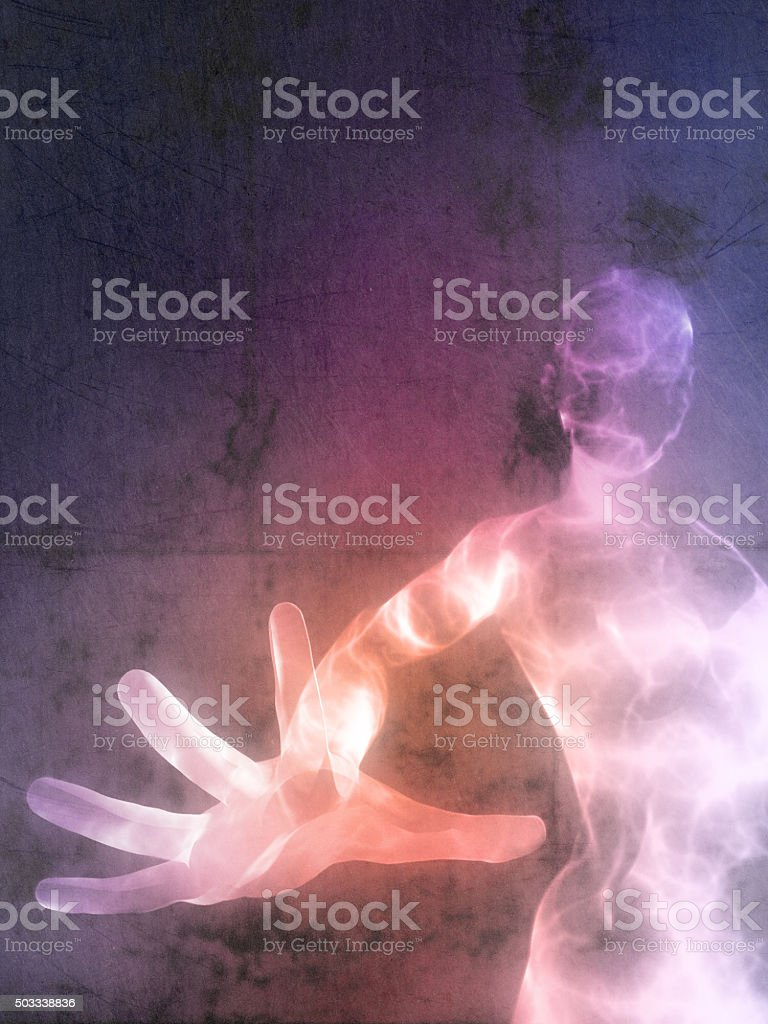 Energy being stock photo