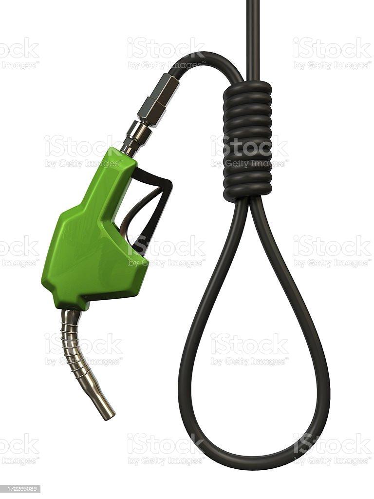 Energy Crisis royalty-free stock photo