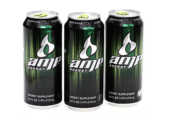 AMP energy dirnk stock photo