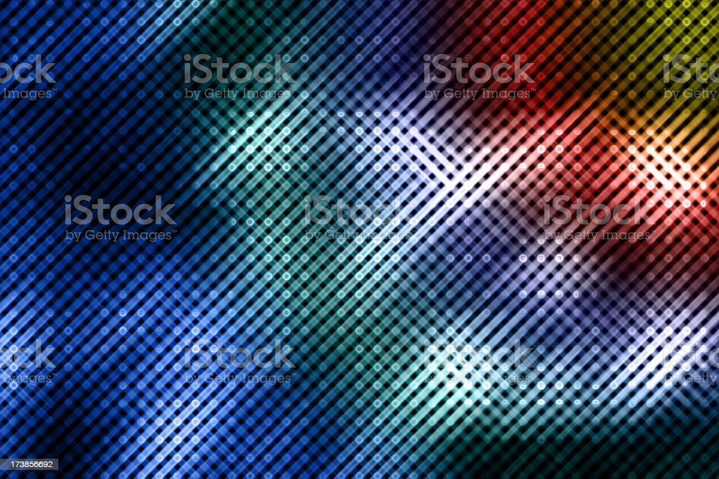 Energy dot abstract background royalty-free stock photo