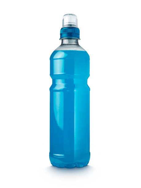 Energy Drink Blue stock photo