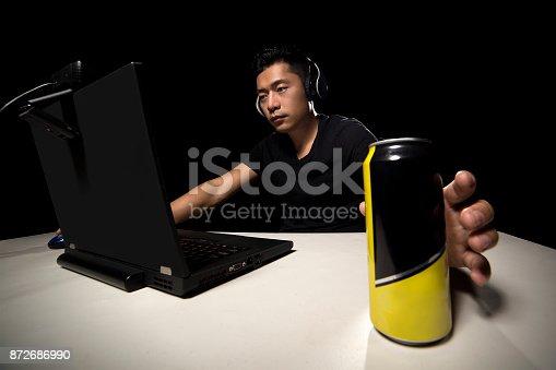 1140560254istockphoto Energy Drink for eSport Player 872686990