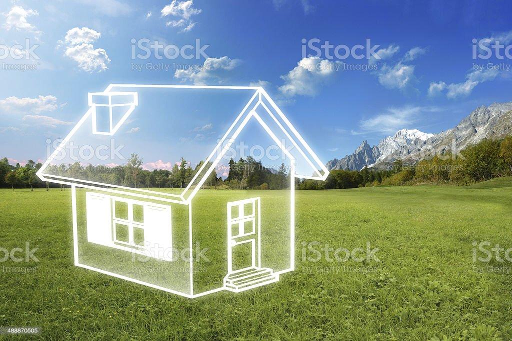 Energy efficency stock photo