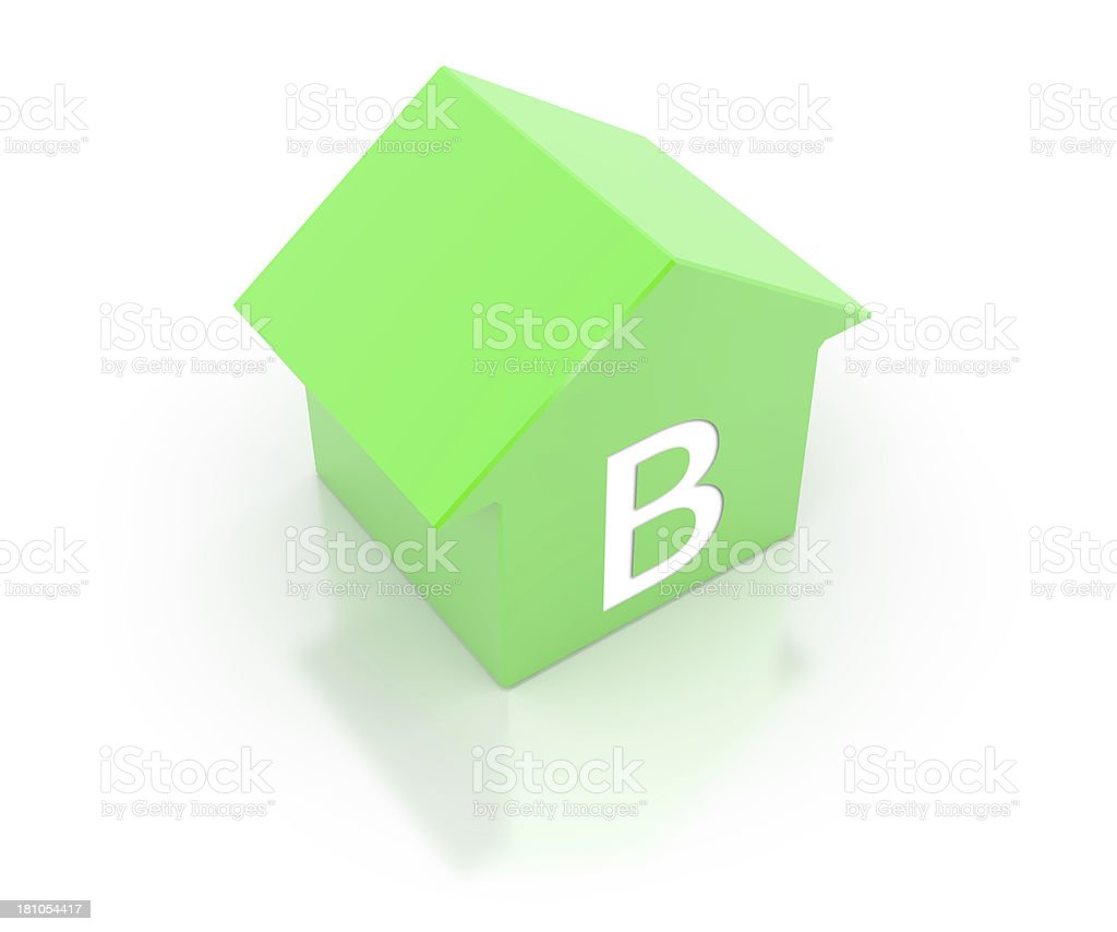 Energy efficiency class royalty-free stock photo