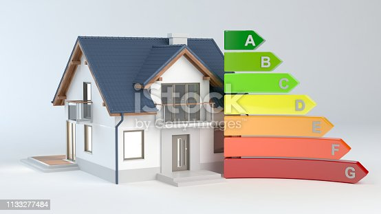istock Energy Efficiency - House No.9 1133277484