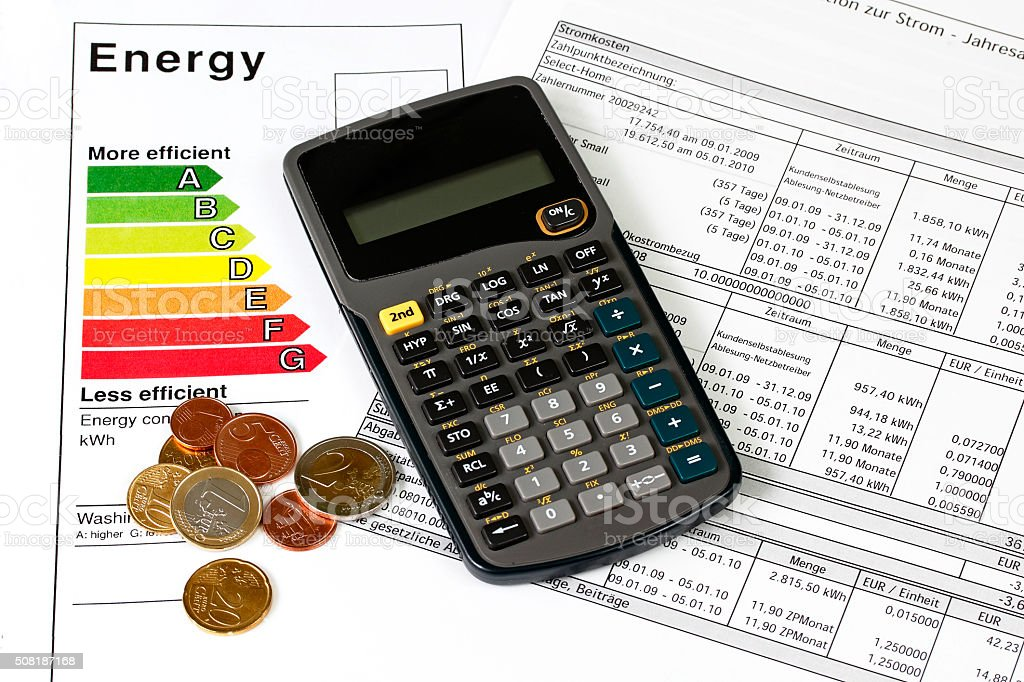 Energy efficiency stock photo