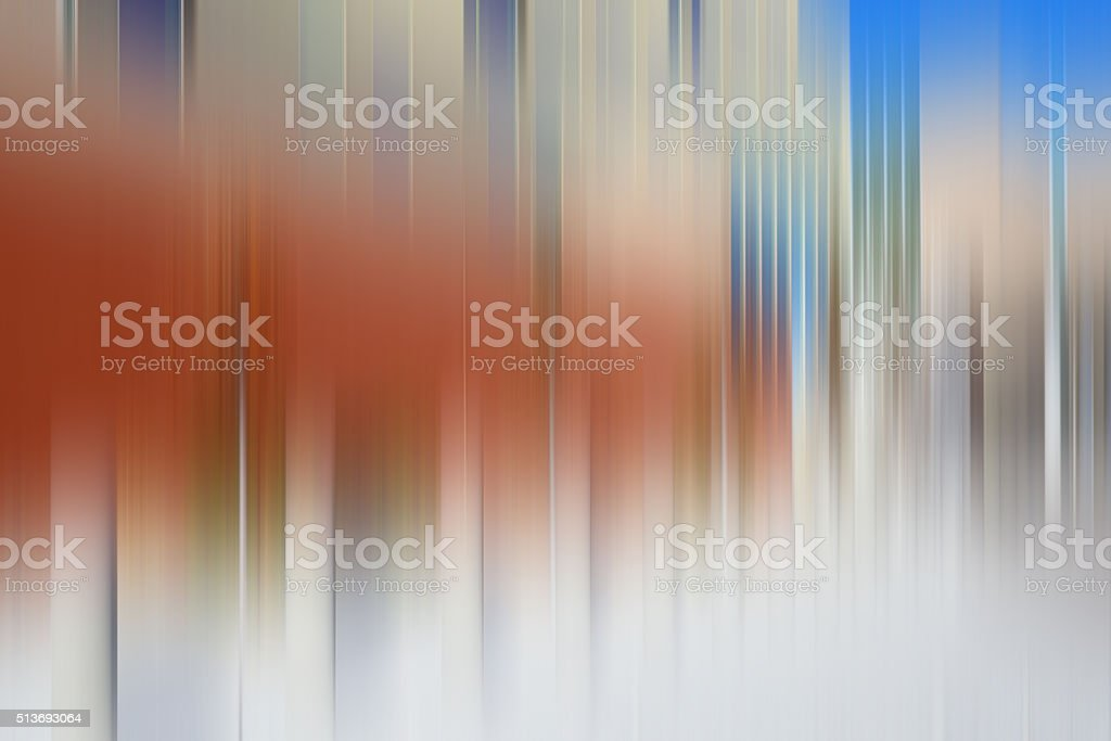 Energy Flow Abstract Blurred Motion Background Blue stock photo