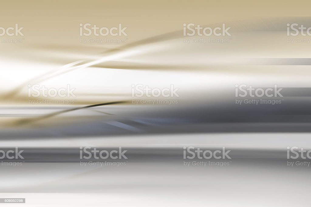 Energy Flow Abstract Blurred Motion Background Silver Gold stock photo