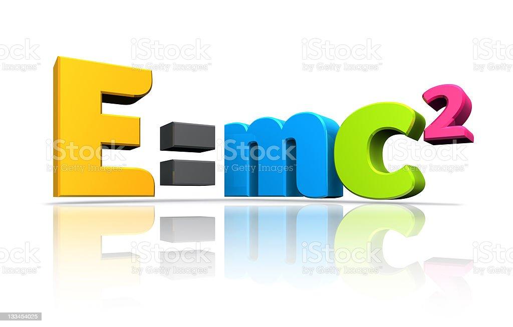 Energy Formula royalty-free stock photo