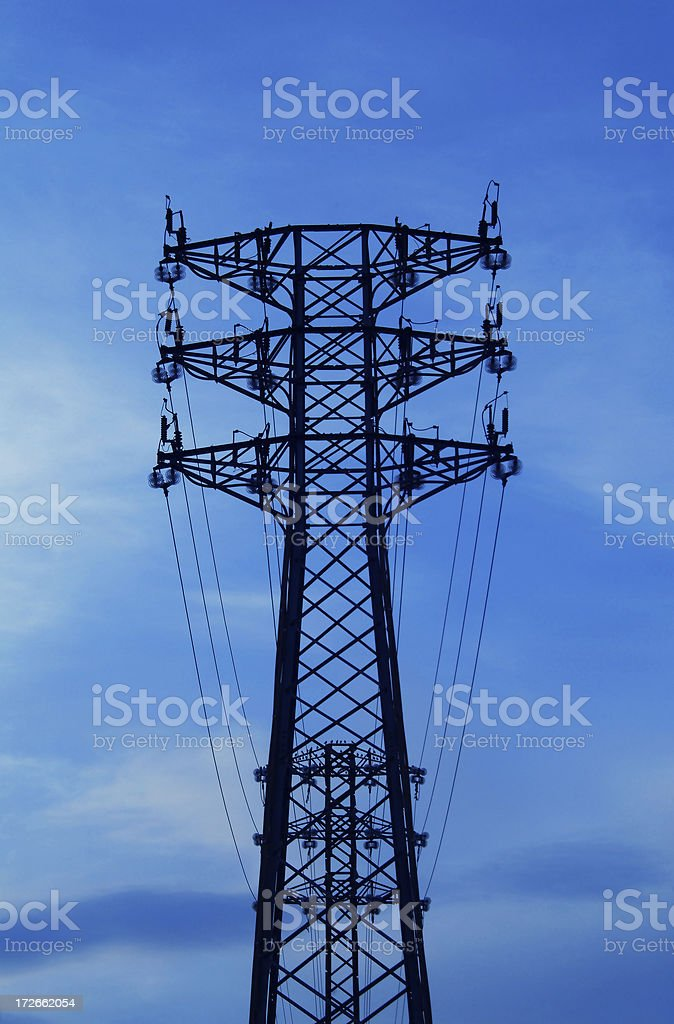 energy: high voltage royalty-free stock photo