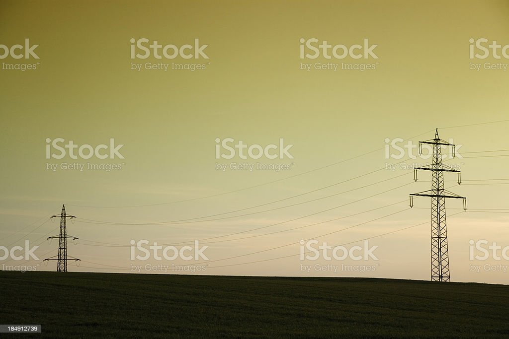 energy high voltage royalty-free stock photo